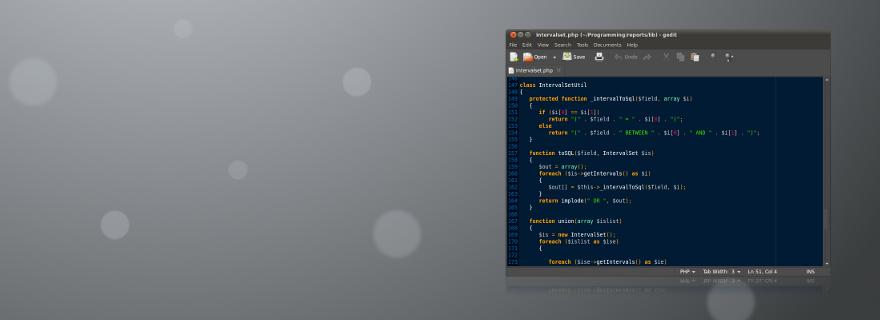 header-programmering